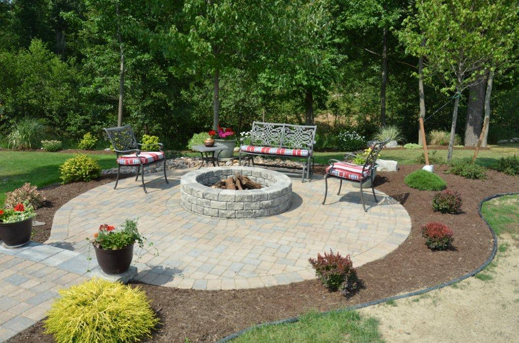 Walls, Steps, Firepits - Landscaping Services - Woodstream ...
